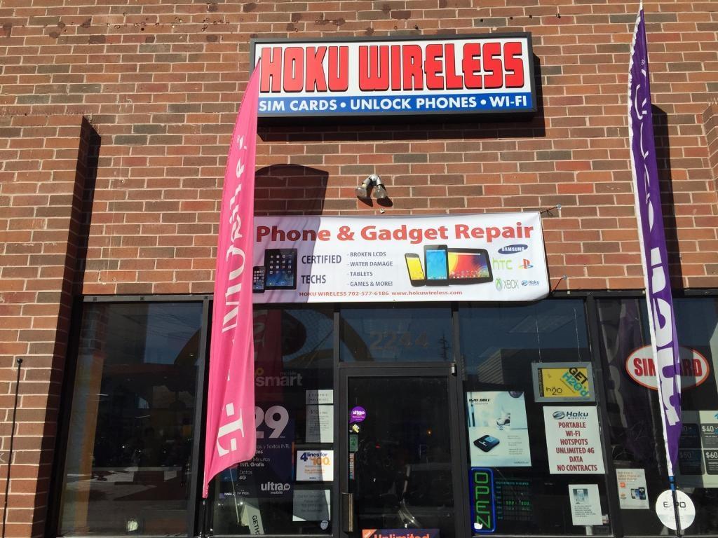 Hoku Wireless of Las Vegas - ad image