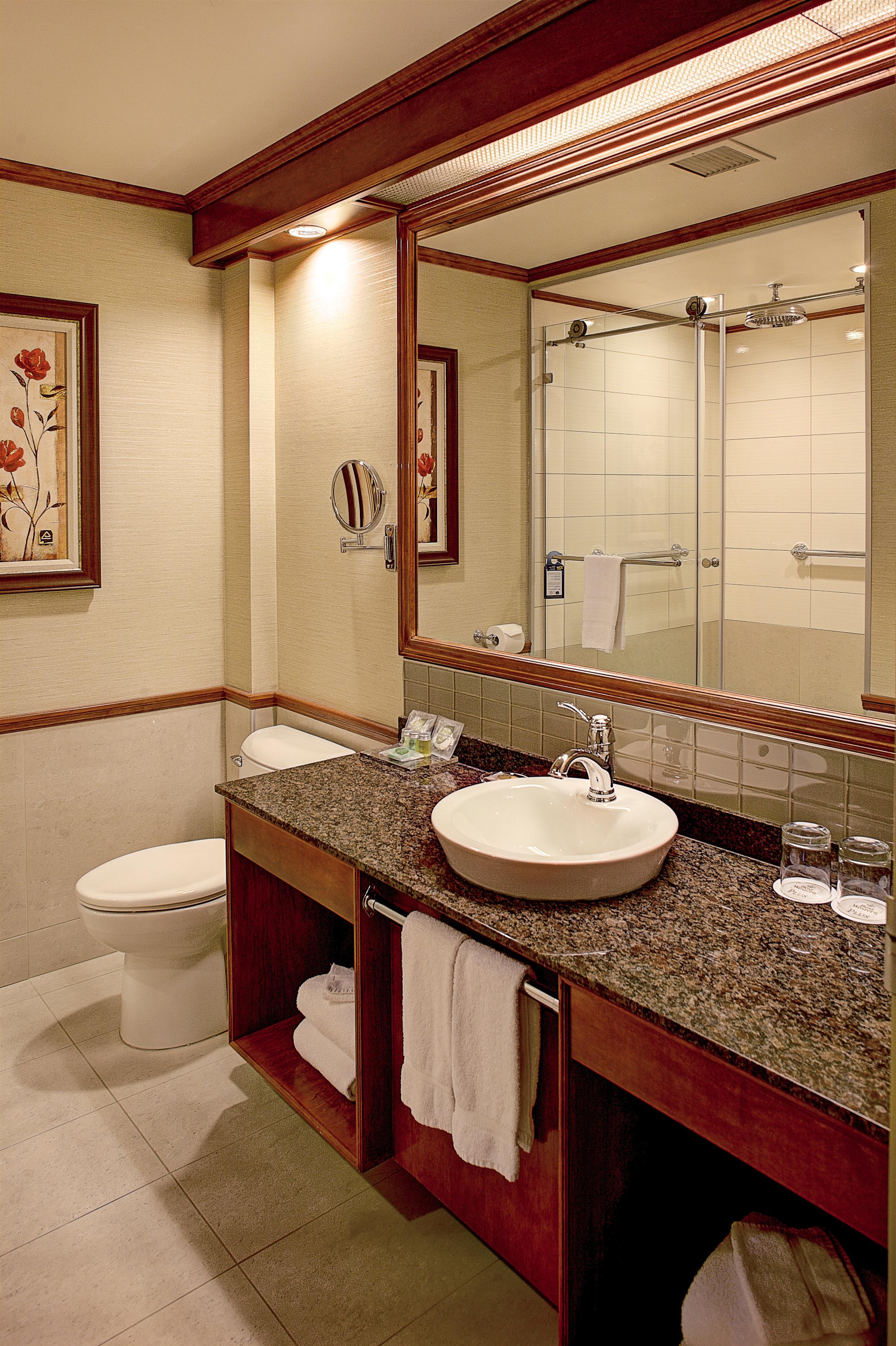 Best Western Plus City Centre/Centre-Ville à Quebec: Deluxe Guest Bathroom