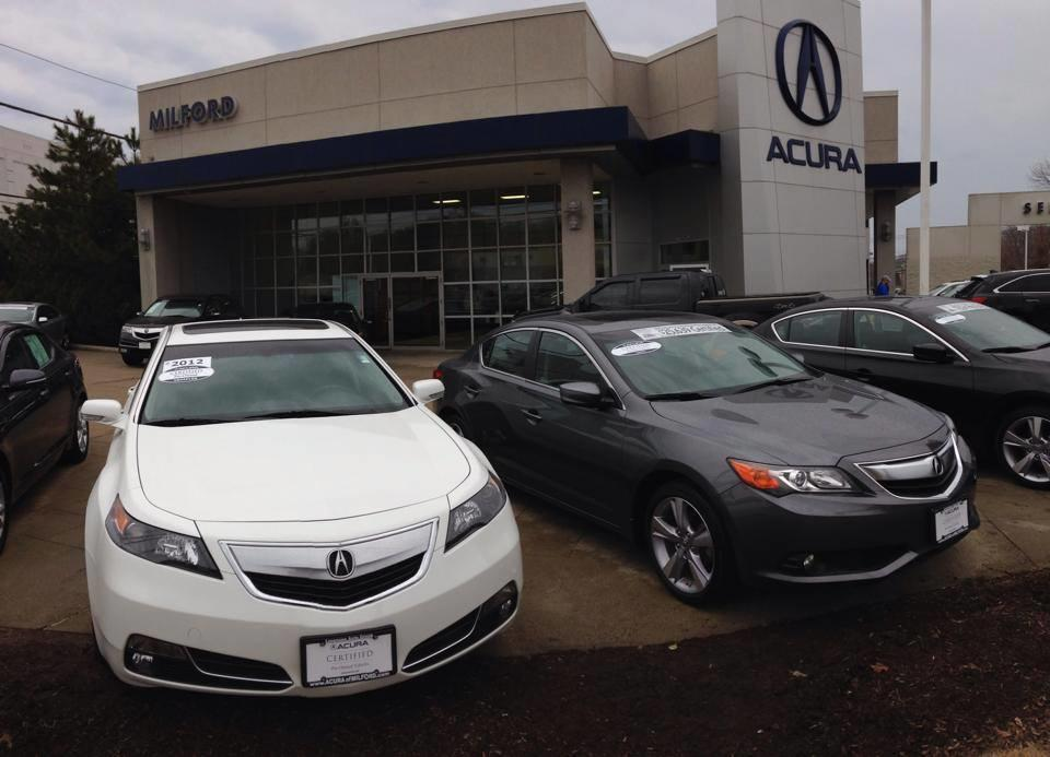 Acura Of Milford >> Acura Of Milford 1503 Boston Post Rd Milford Ct Auto Dealers Used