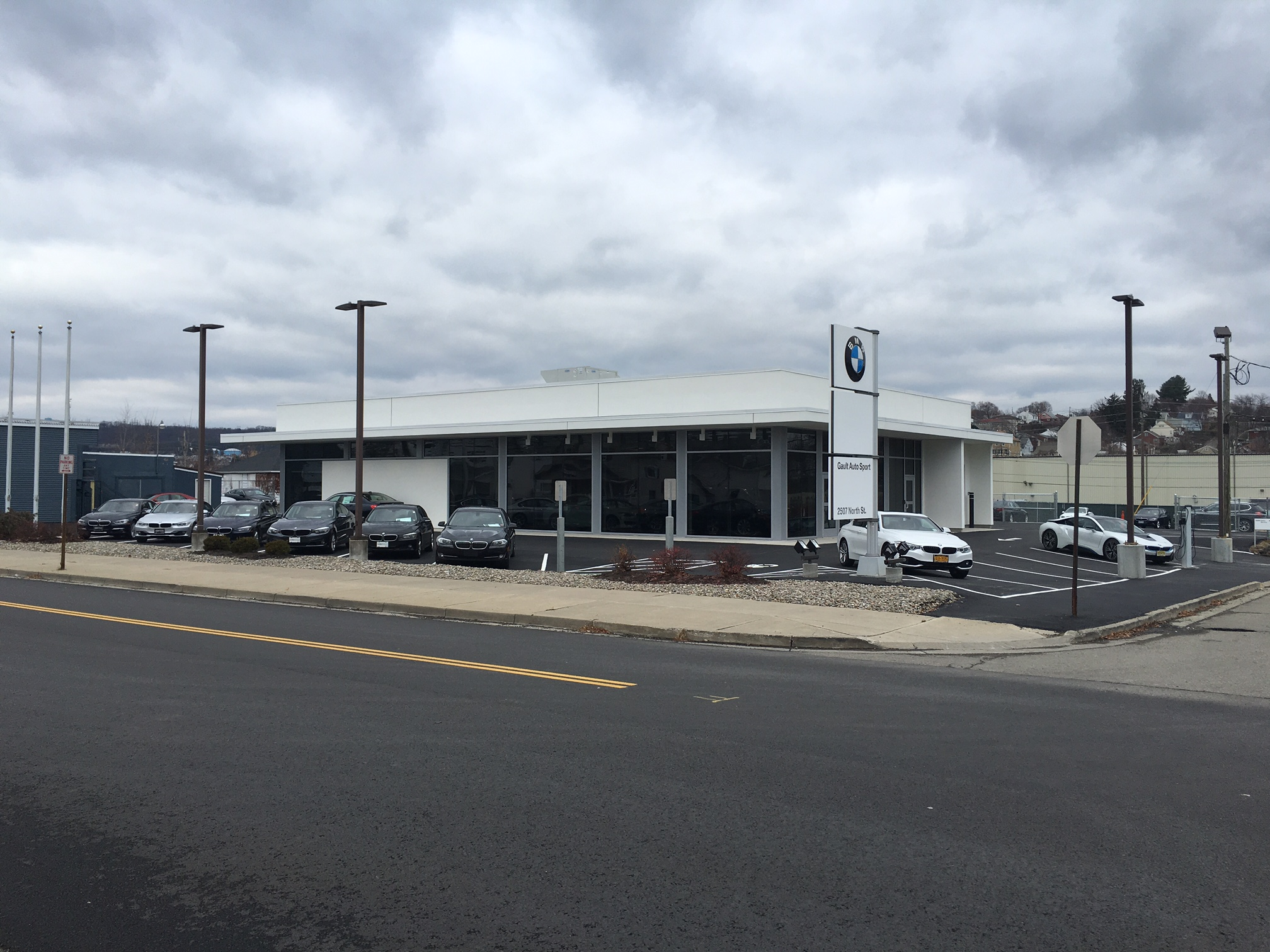 View of Dealership from the road.
