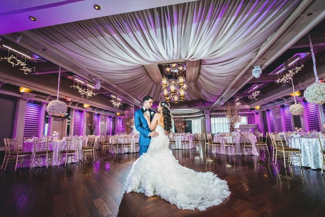 Leonardo DaVinci ballroom wedding