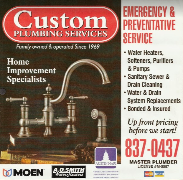 Custom Plumbing Services, Inc.