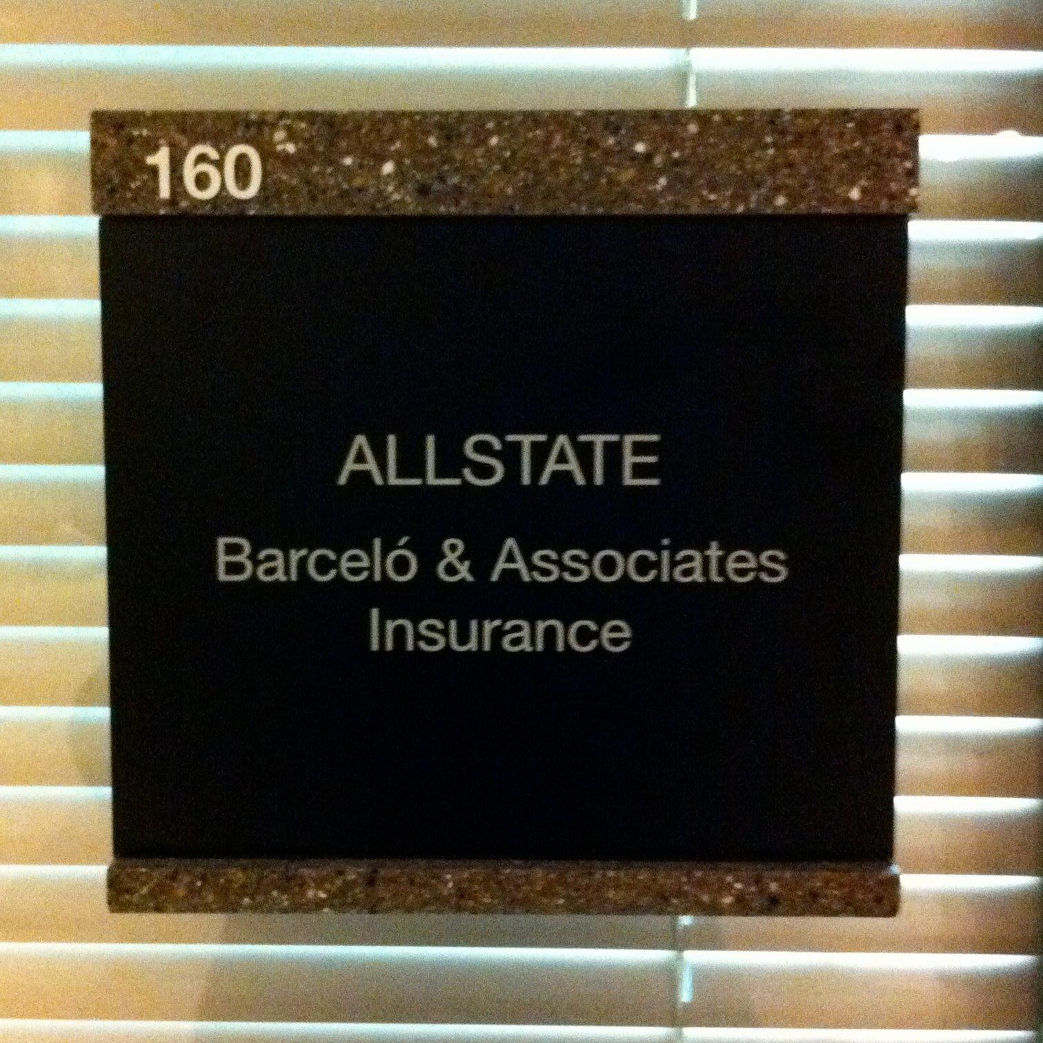 Barcelo & Associates Insurance: Allstate Insurance image 10