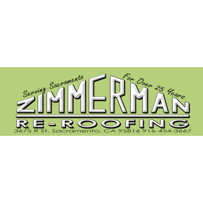 Zimmerman Re Roofing In Sacramento Ca 95816 Citysearch