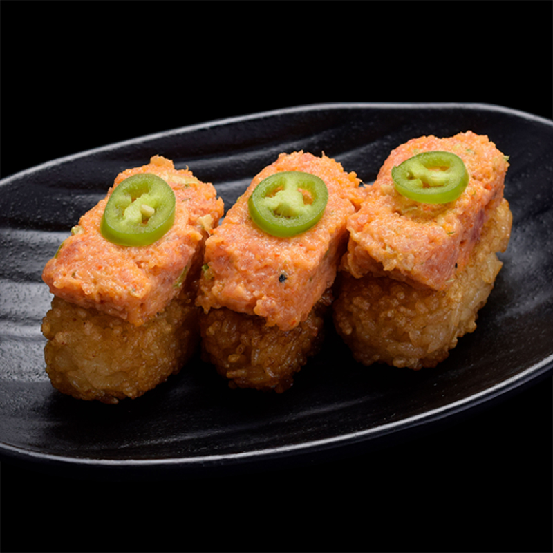 Click to expand image of Crispy Rice with Spicy Tuna