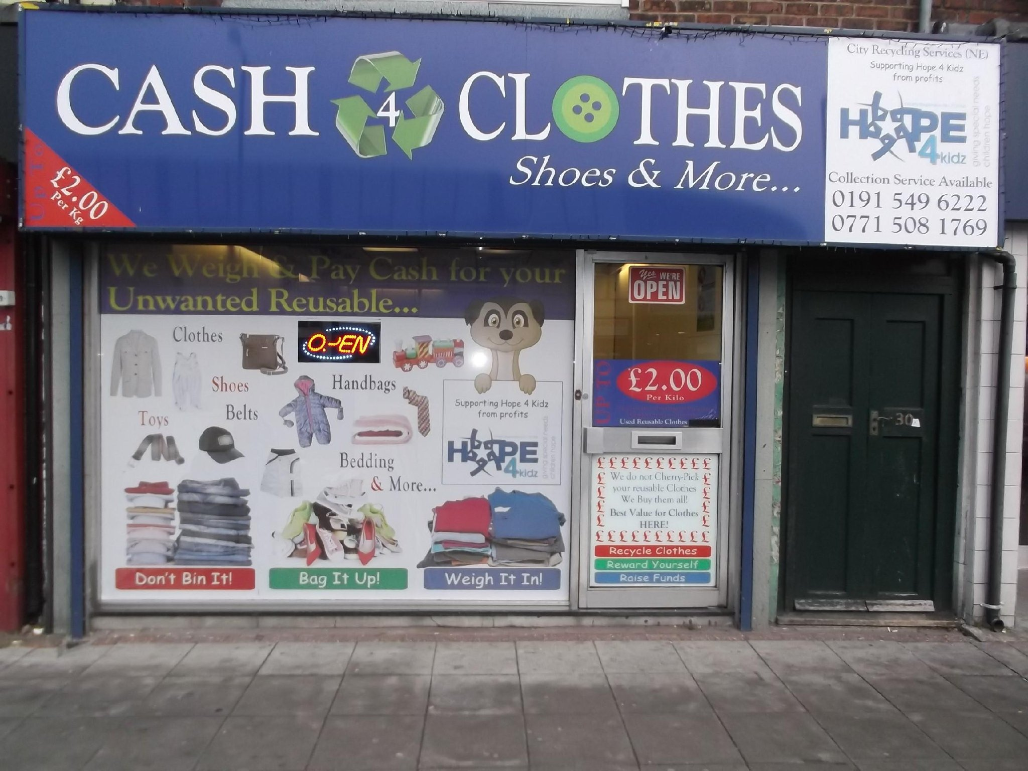 Moneysavingexpert forums aren't keen on cash for clothes. They don't weigh the stuff in front of you, so no way of knowing if you're being ripped off. I have used Bob's Cash For Clothes which was a good service, and they weigh the clothes in front of you and give you cash on the spot, which is never wrong.