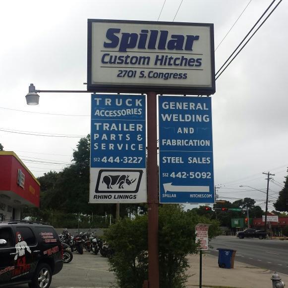 Spillar Custom Hitches