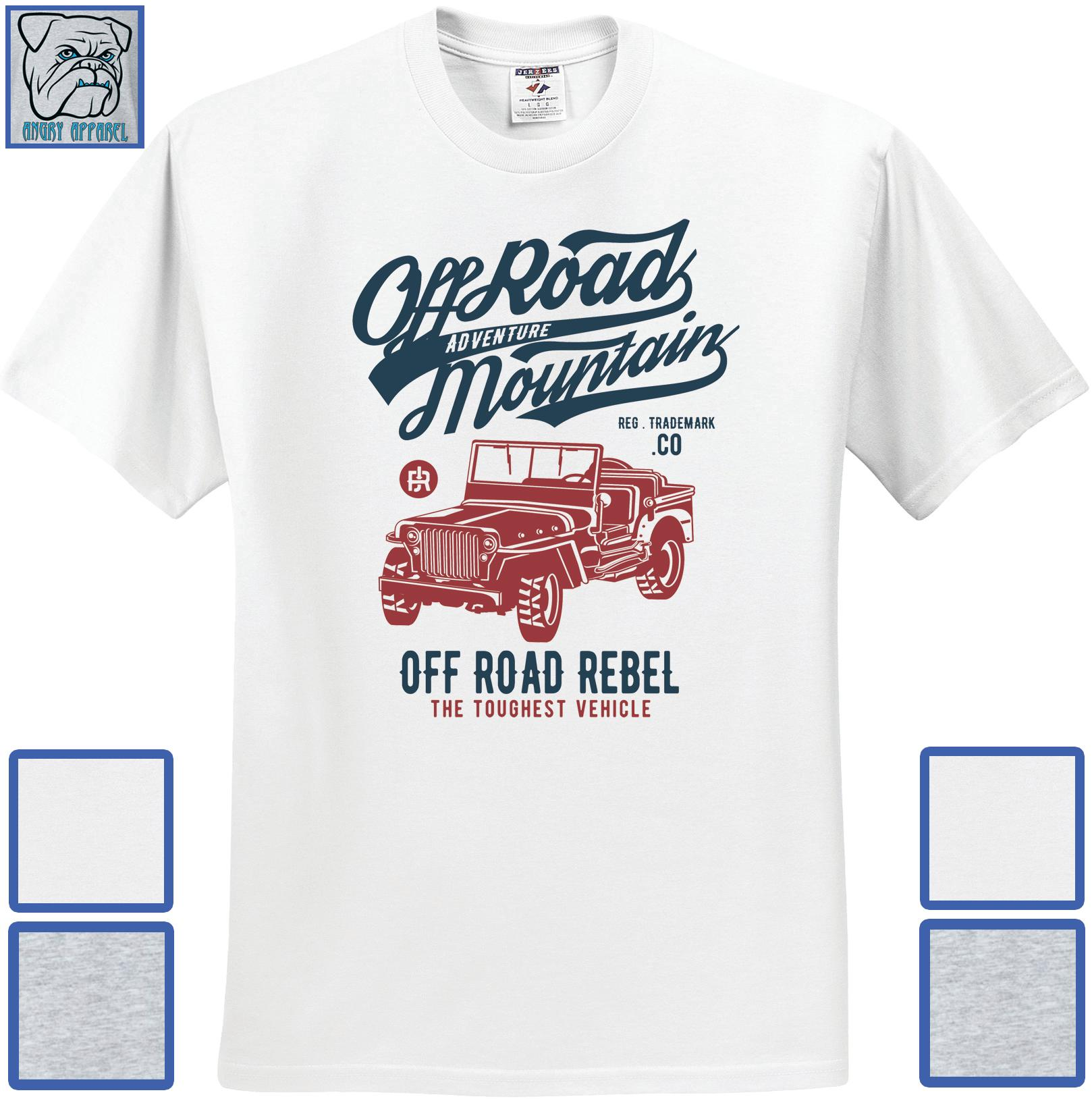Jeep shirts for off road