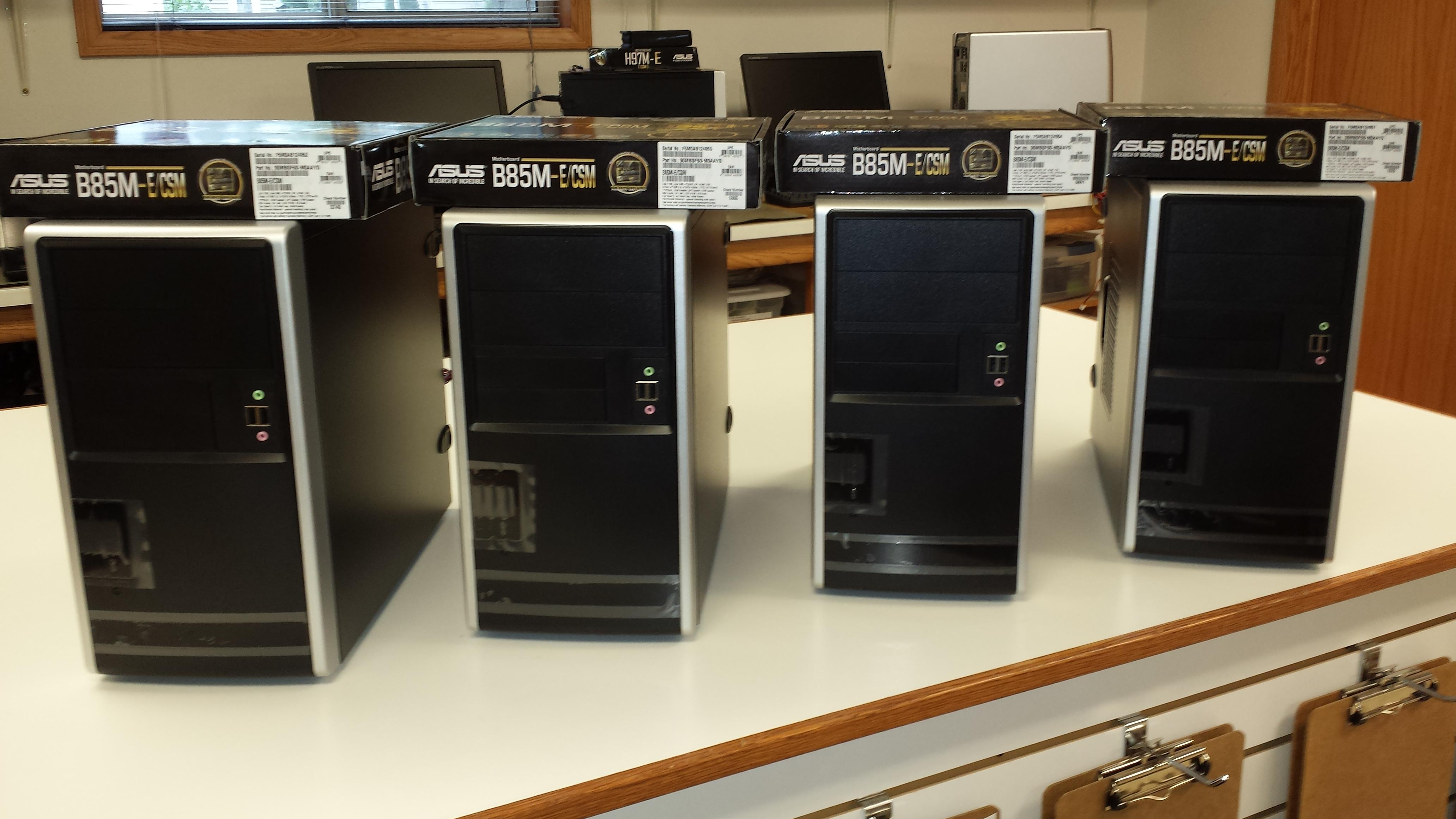 We build our desktop computers in house, using the best quality, industry standardized components. This results in a reliable and serviceable computer.