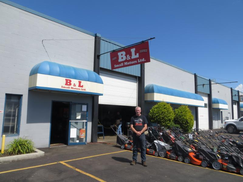 B & L Small Motors in Kamloops: Brad Campbell took over ownership of B & L in February 2016. Brad looks forward to welcoming new customers and providing the same great service to our existing customers.