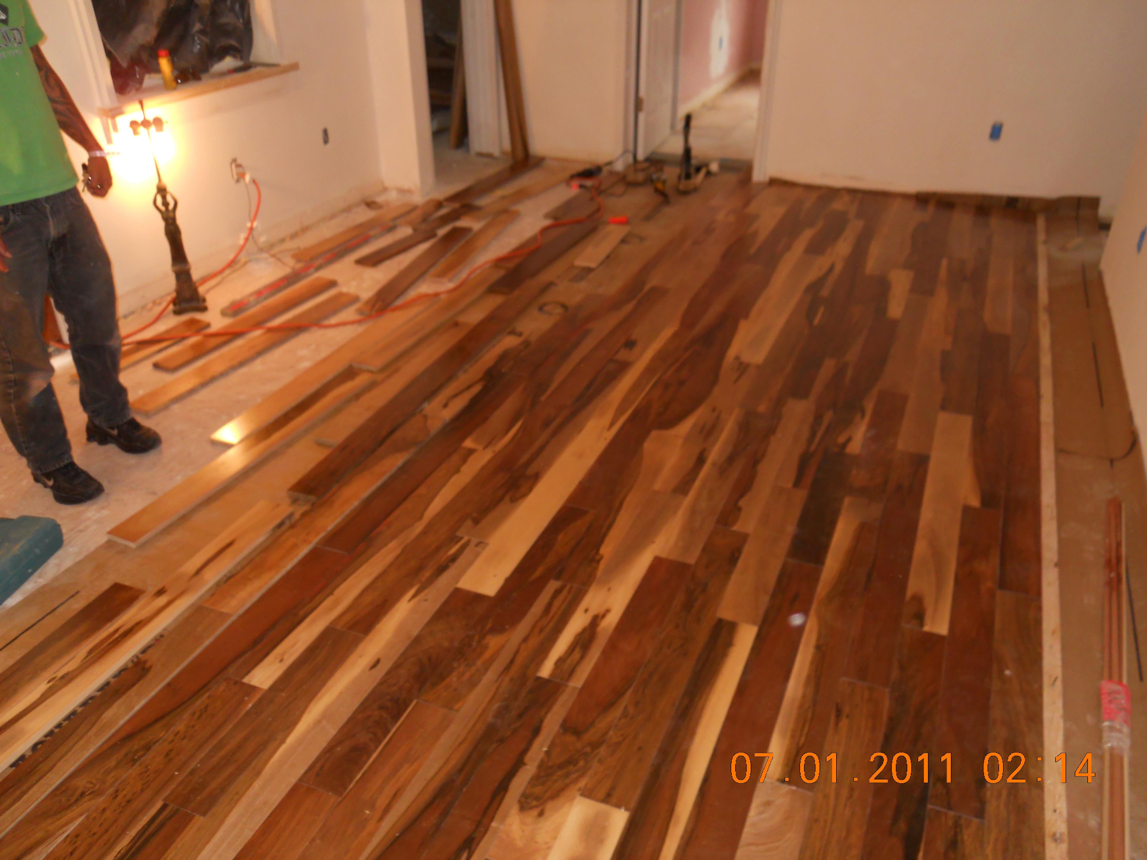 Craftsman Hardwood Floors
