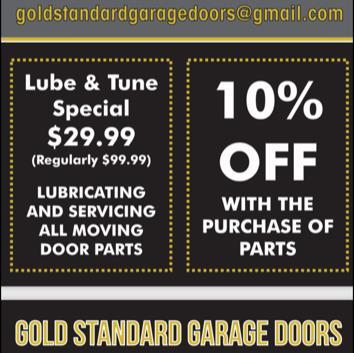 Gold Standard Garage Doors and More image 3