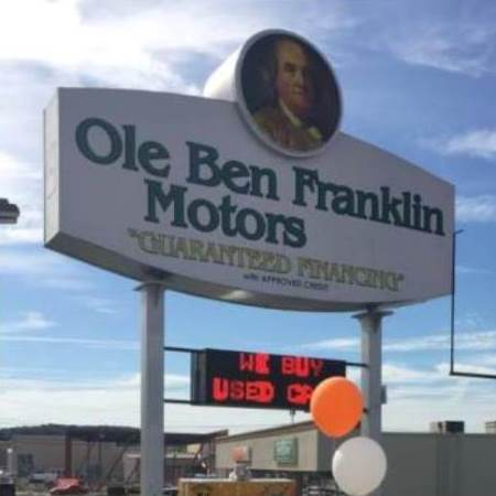 ole ben franklin motors in knoxville tn 888 274 7929