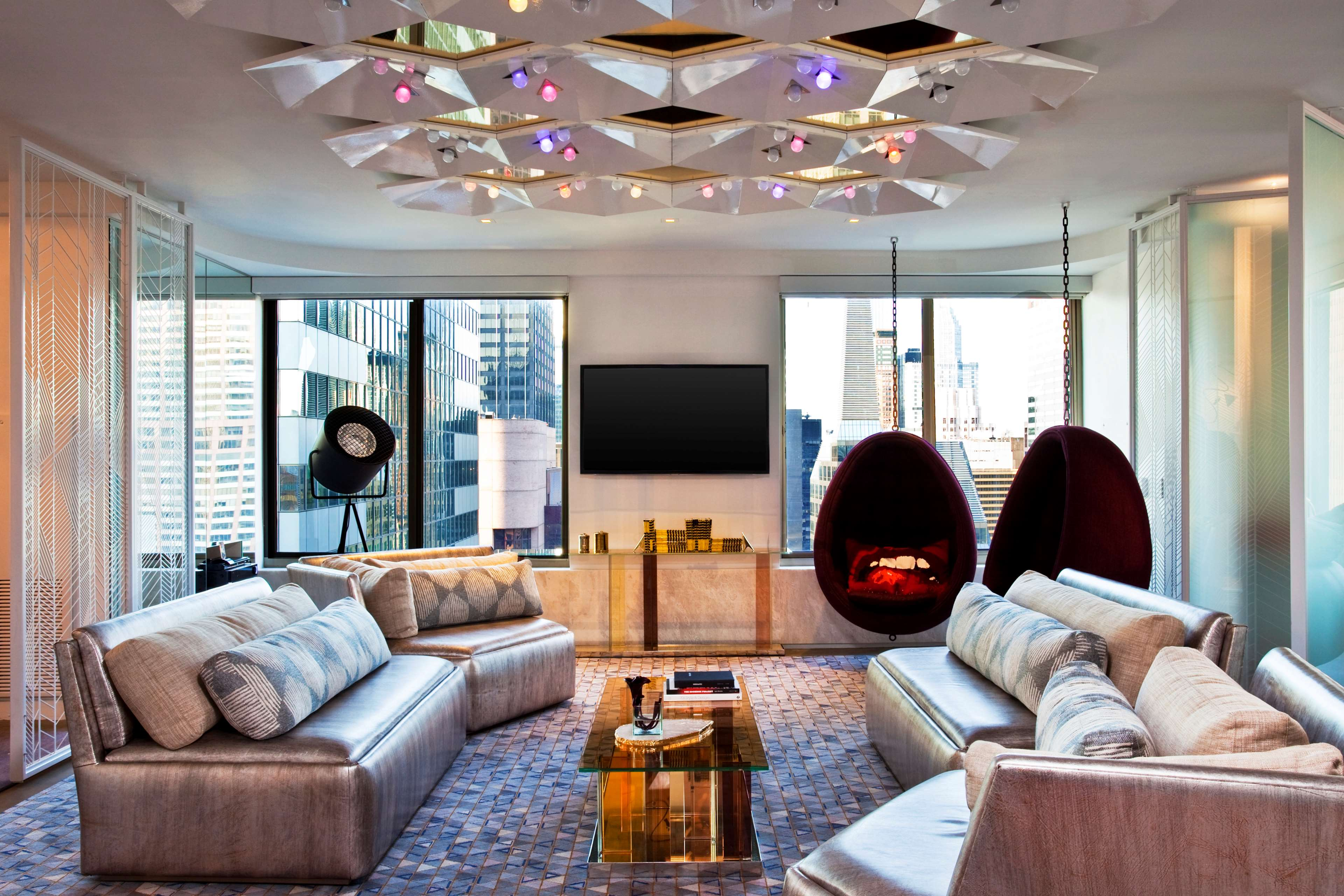 Living Room 1567 Broadway w new york - times square 1567 broadway new york, ny w hotels