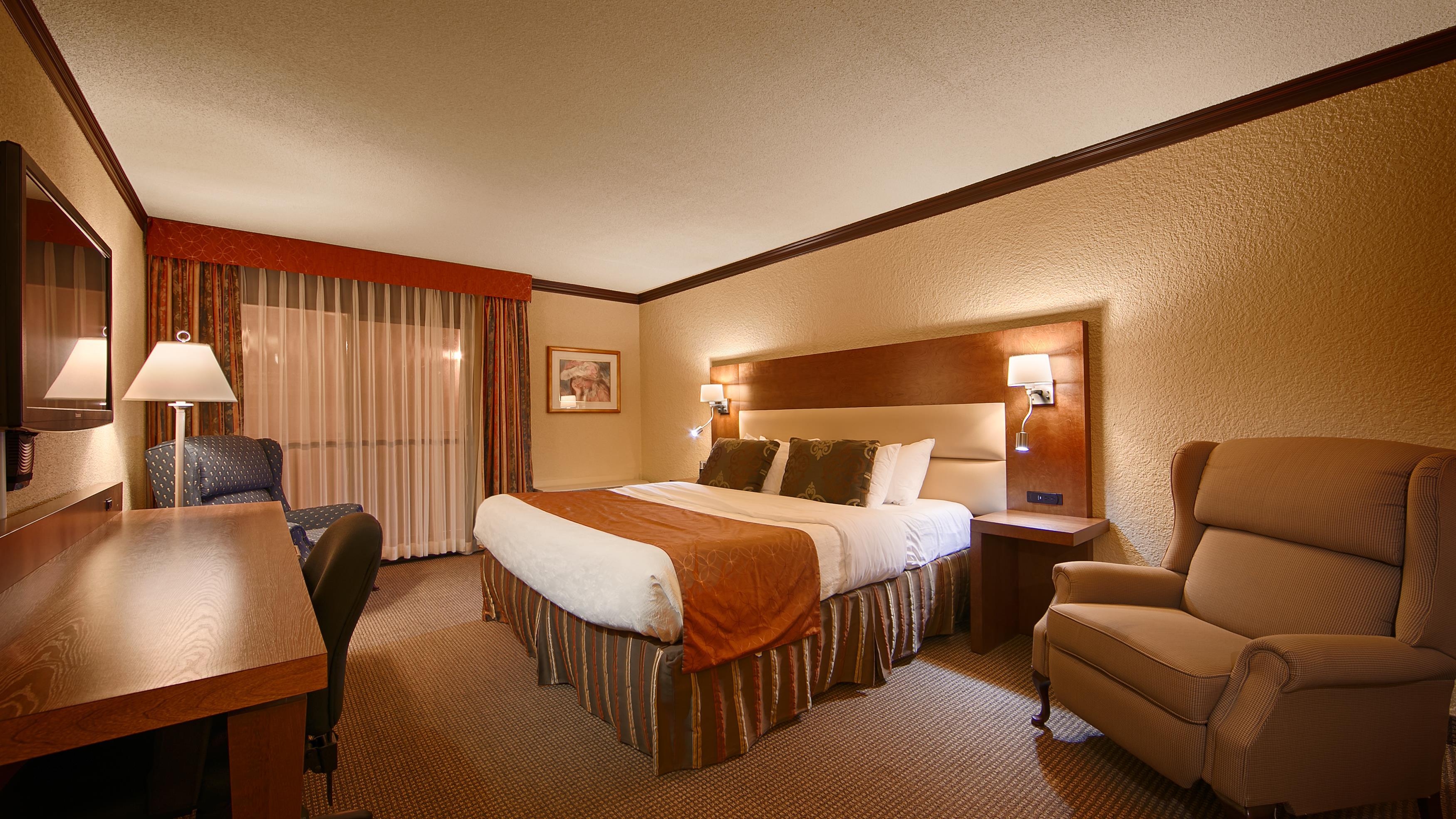 Best Western Hotel Universel Drummondville à Drummondville: King Room
