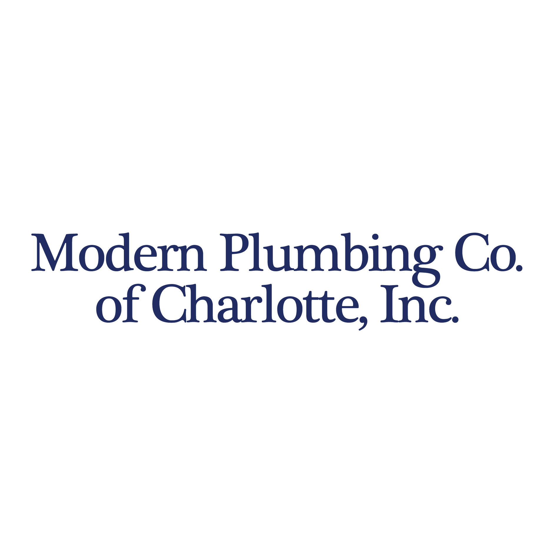 Modern Plumbing Co. of Charlotte, Inc.