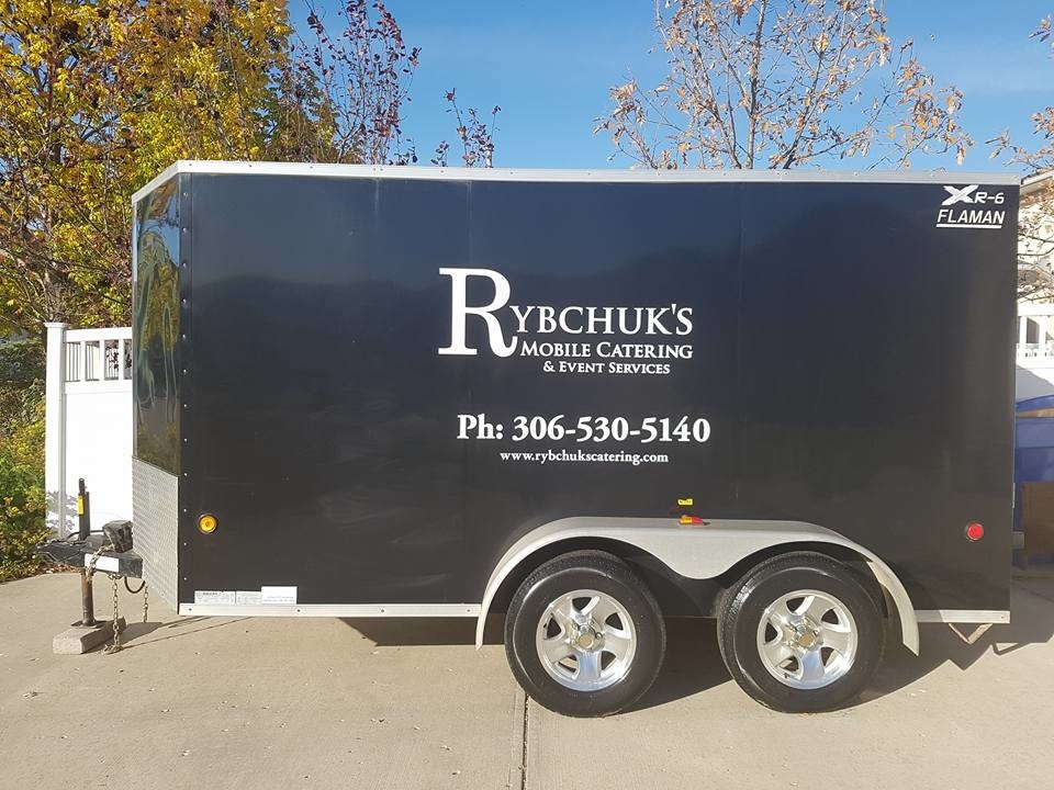 The Rybchuks Catering Company in Regina: We offer our services to many places in town as well as out of town.