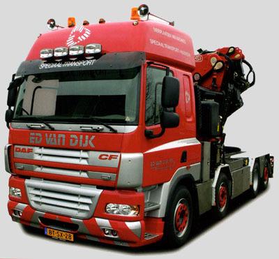 Dijk BV De Meern Speciaal Transport Hijswerk Ed van