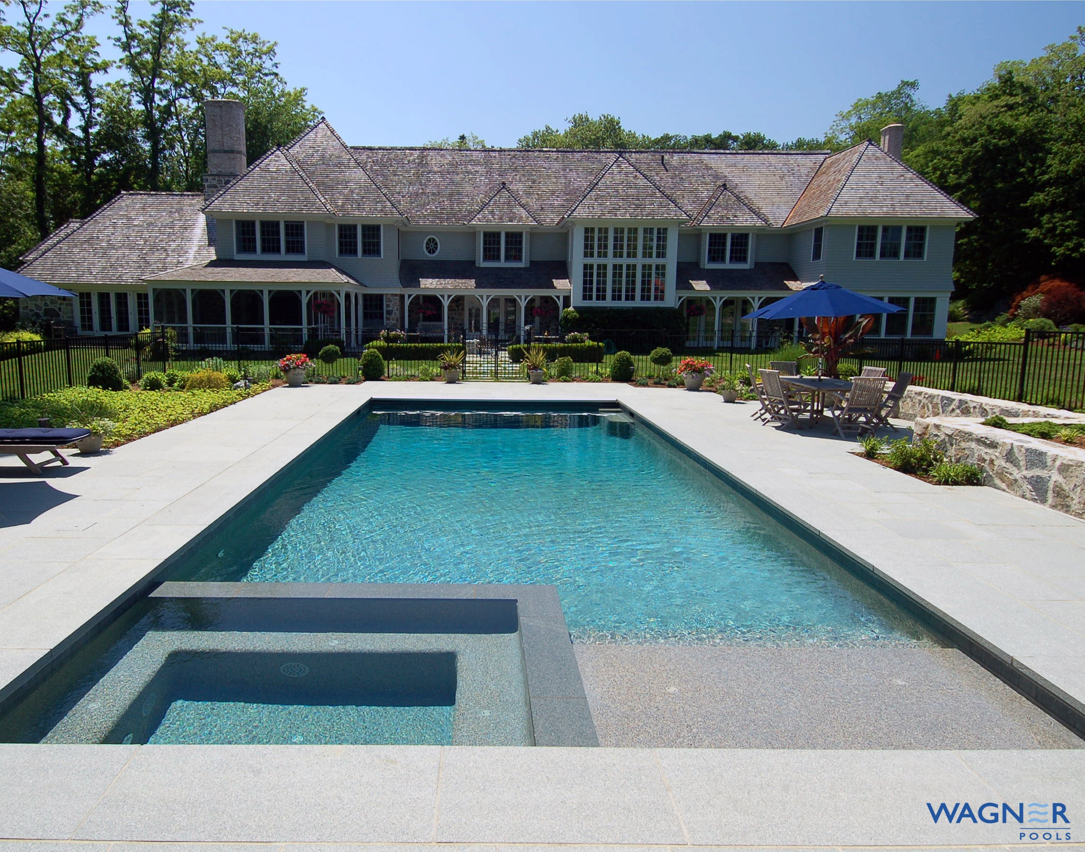 Wagner pools darien ct swimming pool contractors for Pool vendors