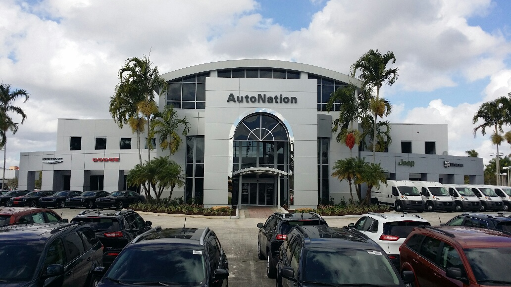 Autonation chrysler dodge jeep ram pembroke pines at 13601 for Mercedes benz of pembroke pines fl
