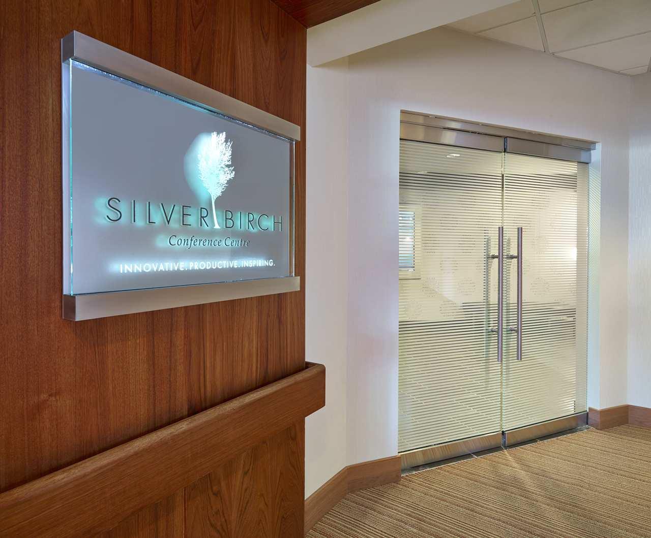 DoubleTree by Hilton Hotel West Edmonton in Edmonton: SilverBirch Conference Center Entrance