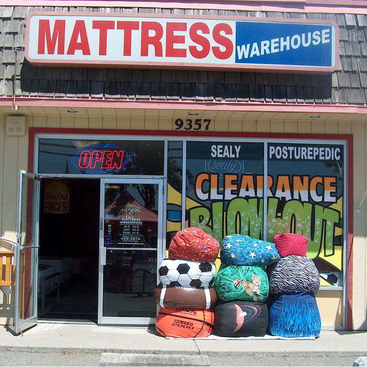 Mattress Warehouse Clearance Outlet 9357 Greenback Ln