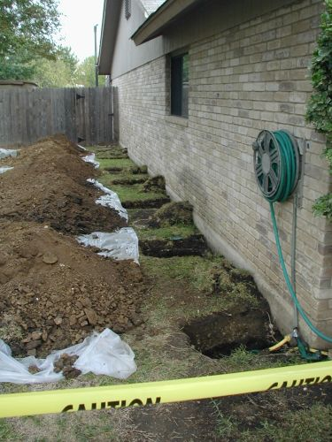 Restoring the foundations of your homes to bring them back to their original integrity!
