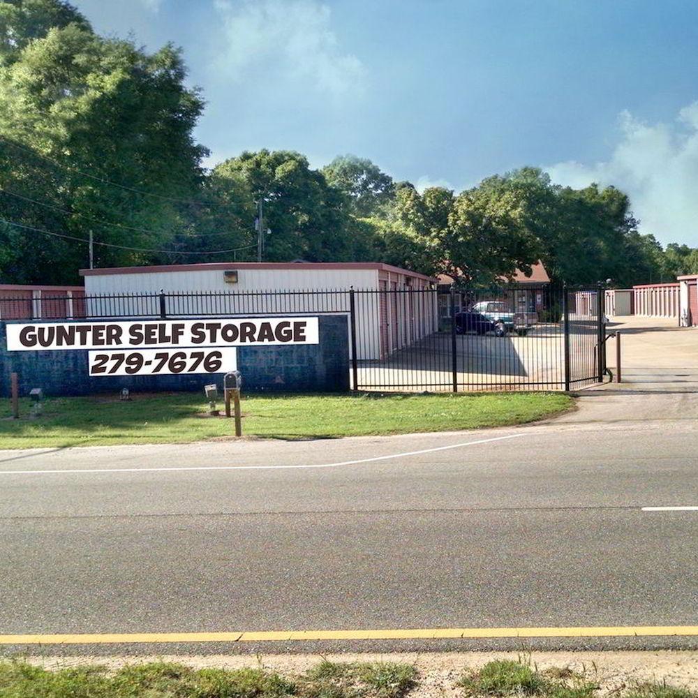 Gunter Self Storage is located near Gunter Air Force Base (part of Maxwell AFB) in Montgomery Alabama.