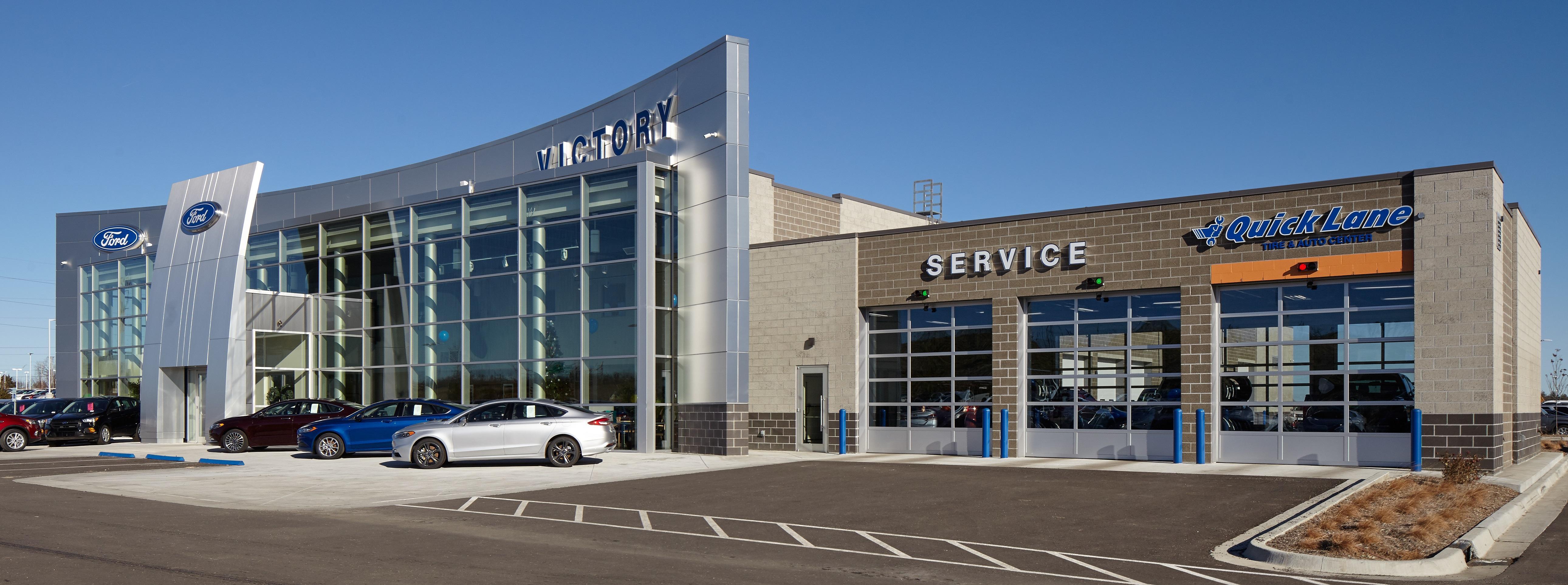 Victory Ford 1800 N 100th Terrace Kansas City KS Auto Dealers
