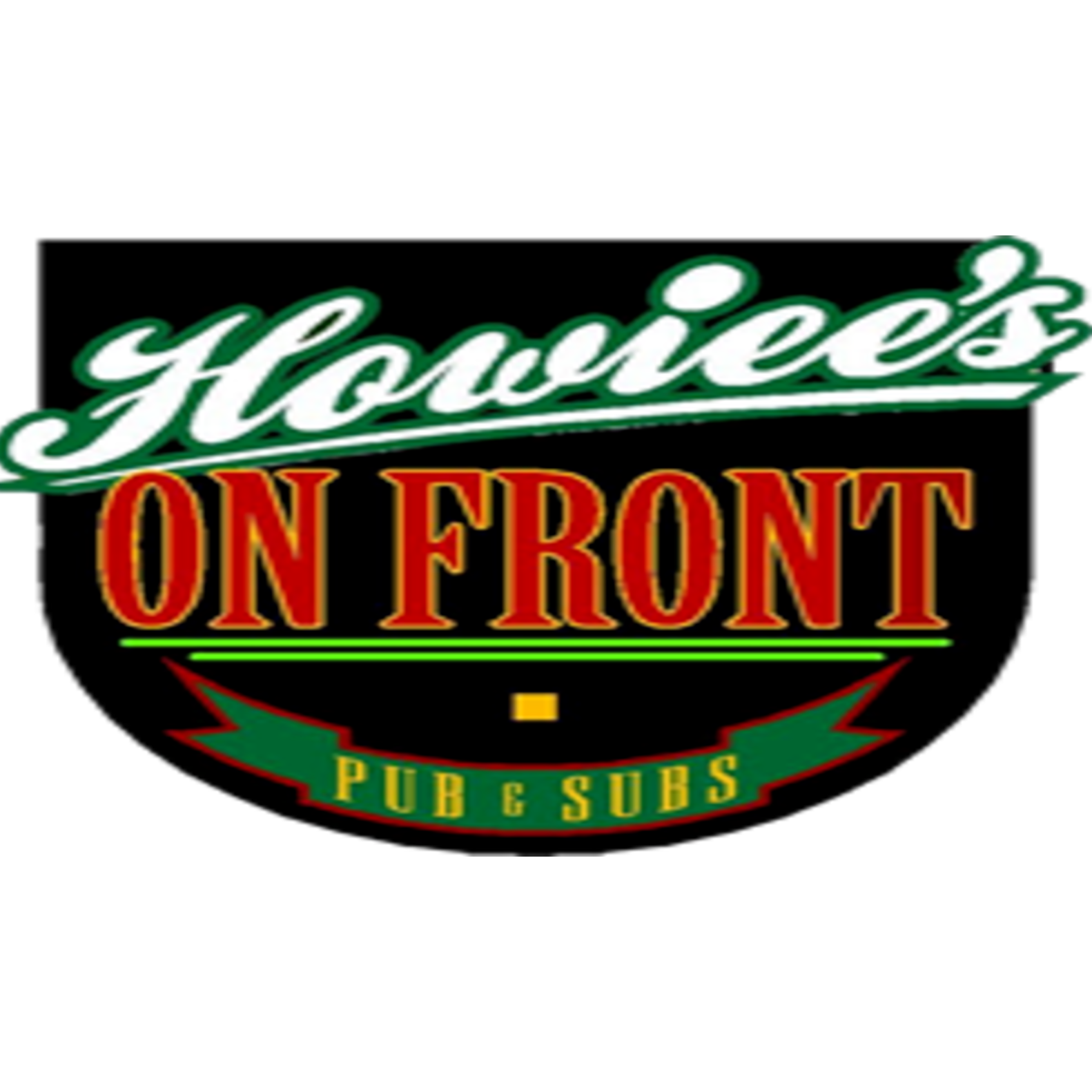 Howiee's on front