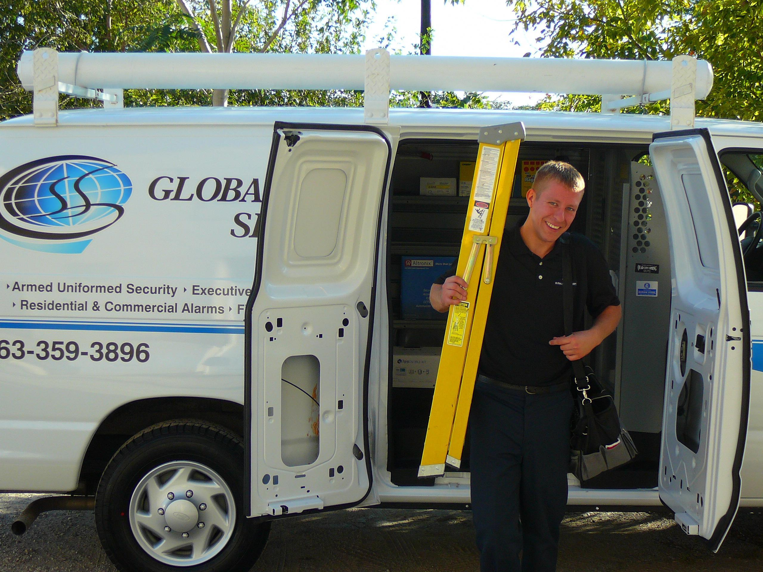Global Security Services - ad image