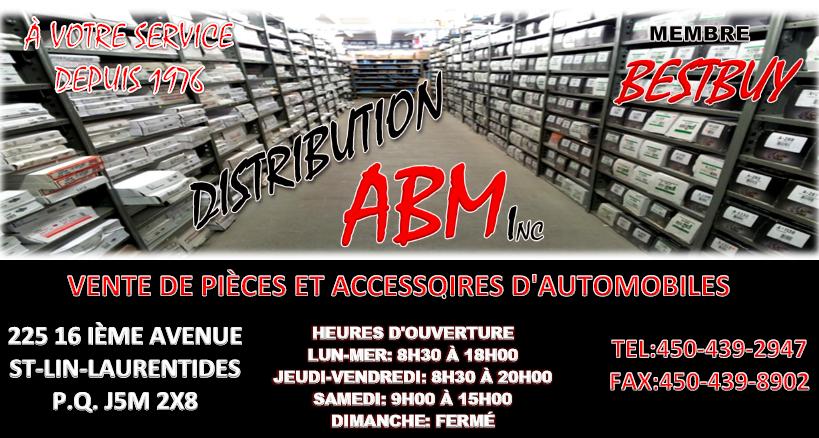 Distribution A B M Inc à Saint-Lin-Laurentides