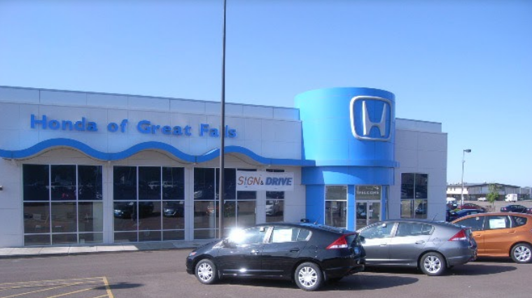 Honda Of Great Falls 4900 10th Ave S Great Falls, MT Auto Dealers   MapQuest