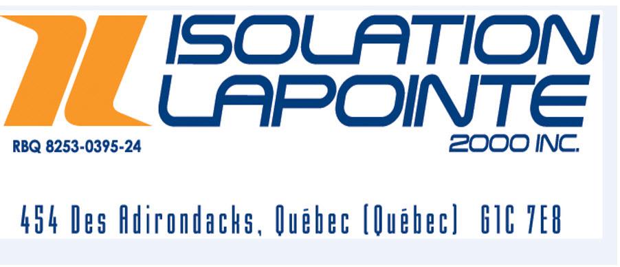 Isolation Lapointe 2000 Inc à Québec