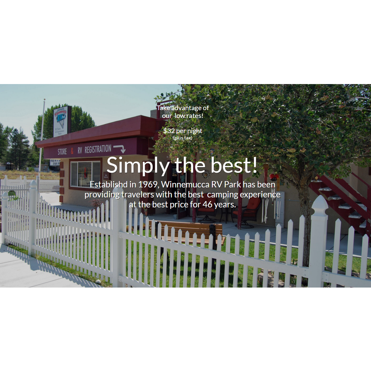 Winnemucca RV Park - Winnemucca, NV - RV Rental & Repair