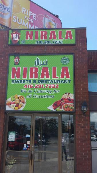 Nirala Sweets & Restaurant - Scarborough, ON M1X 1E6 - (416)291-7232 | ShowMeLocal.com