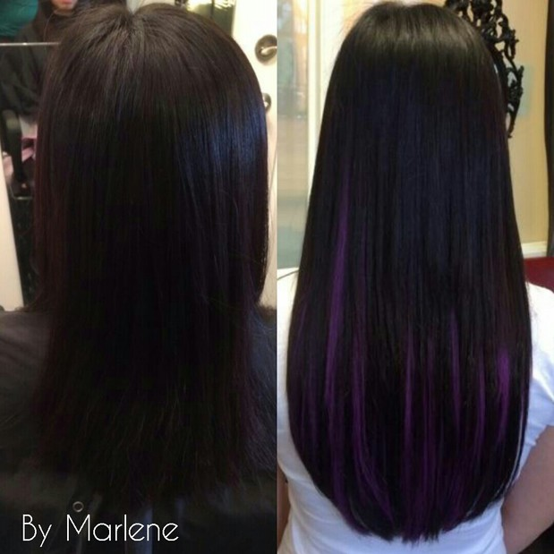 Hair In Chicago Hair Extensions Before And After Picture