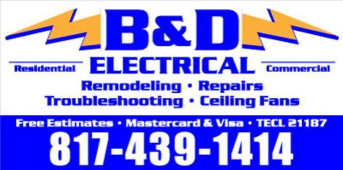 B & D Electrical Co image 0