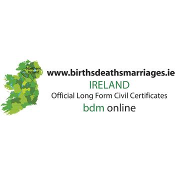 Births Deaths Marriages Ireland 1