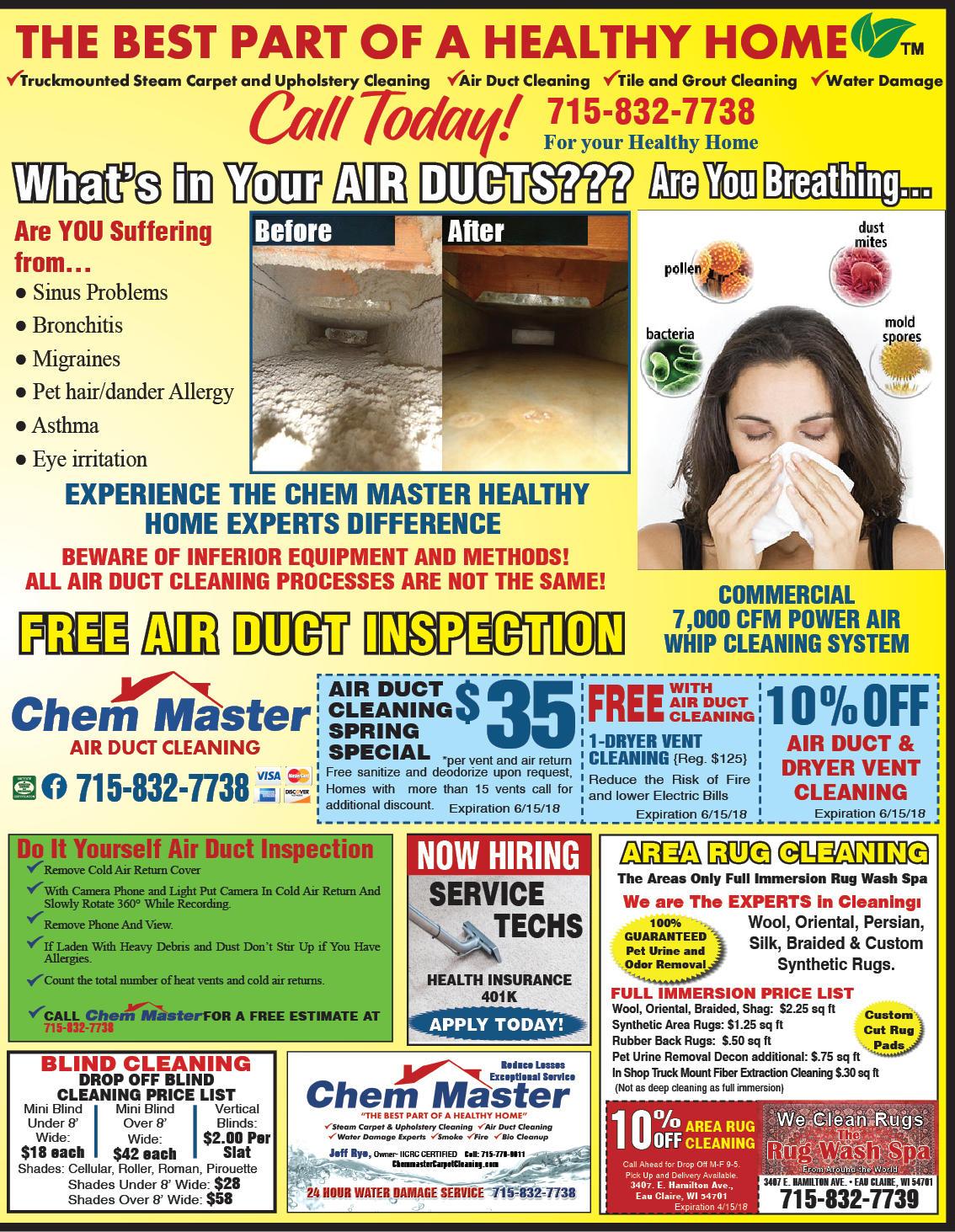Chem Master Carpet Cleaning And Restoration image 12
