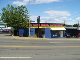 Stone Bros Auto Body Ltd in Nanaimo
