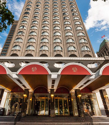 Montreal Marriott Chateau Champlain à Montreal