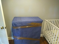 All dressers are either quilt or shrink wrapped in the house before the move to ensure that items remain in the same condition.