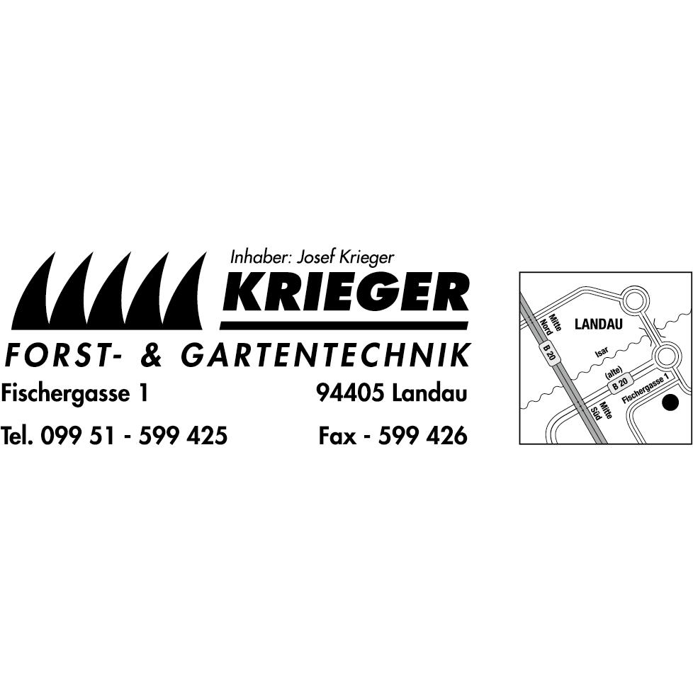 Logo von Josef Krieger Forst- & Gartentechnik
