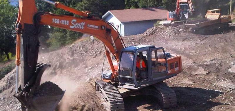 Scott Contracting & Excavating in Westbank