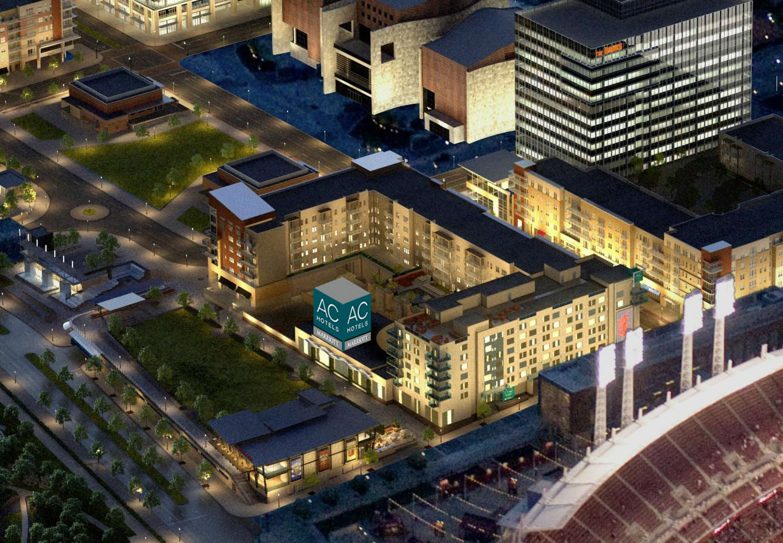 AC Hotel by Marriott Cincinnati at The Banks image 0