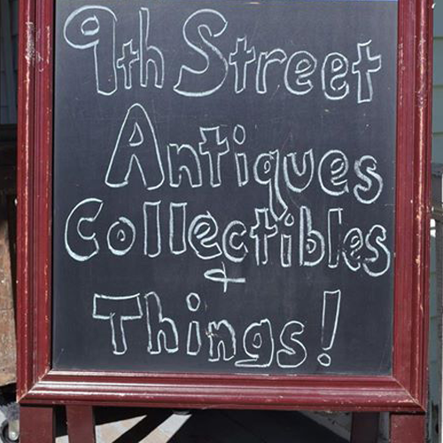 9th Street Antiques, Collectibles and Things