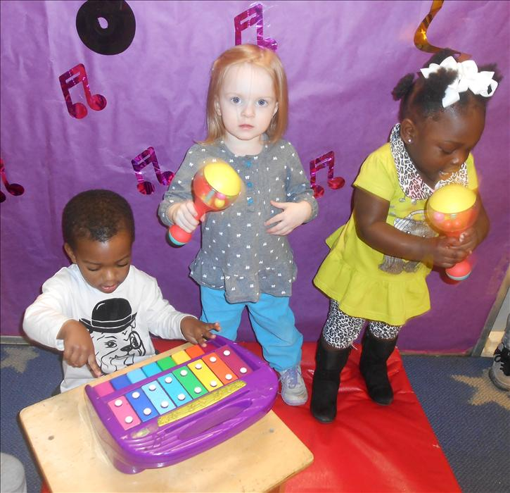 This is What Learning Looks Like: Nurturing creativity in creating music using various items.