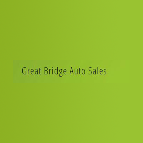 Great Bridge Auto Sales