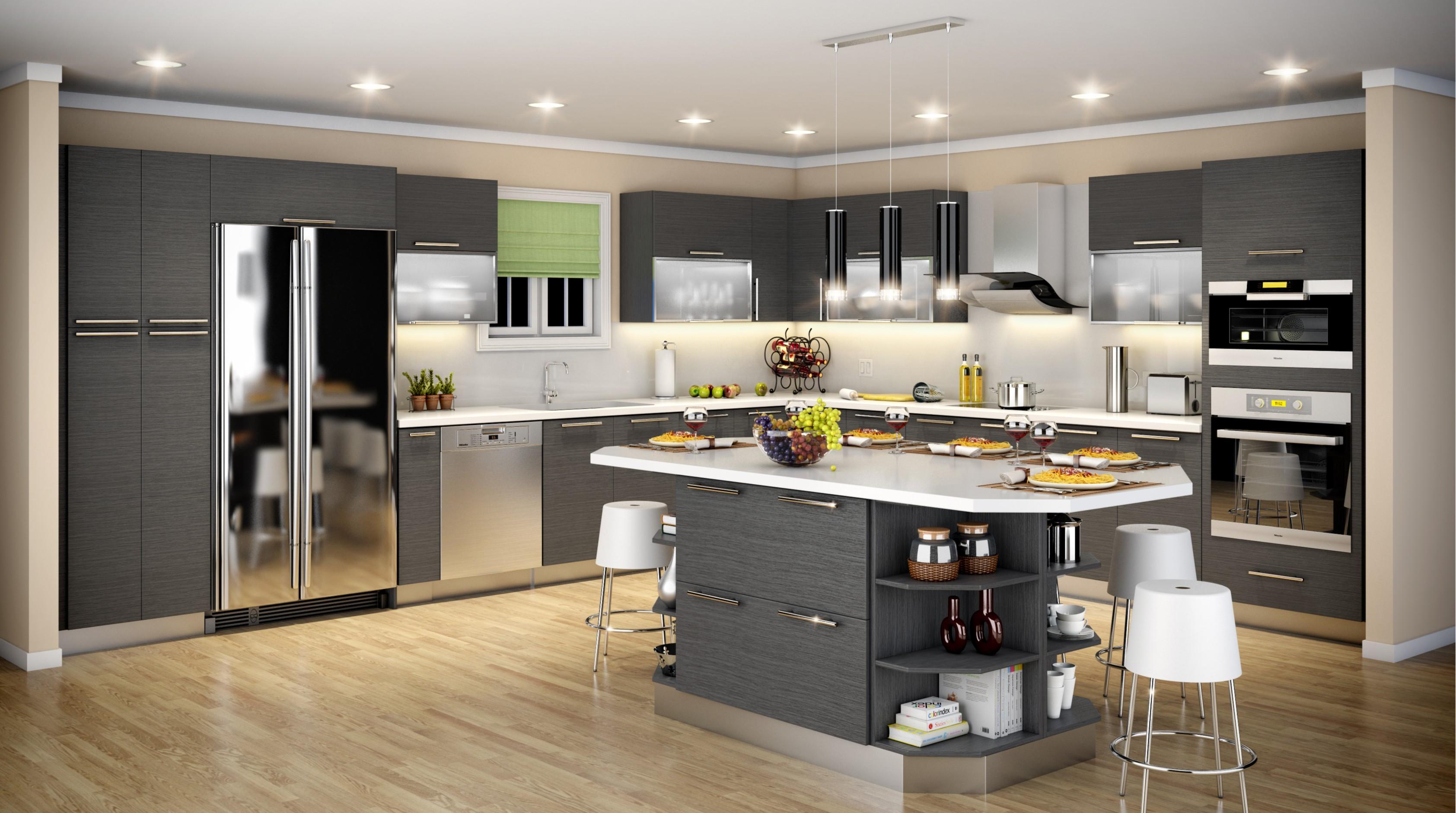 Apex Kitchen Cabinet and Granite Countertop image 7